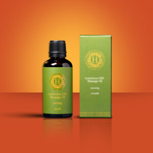 Luxurious CBD Massage Oil